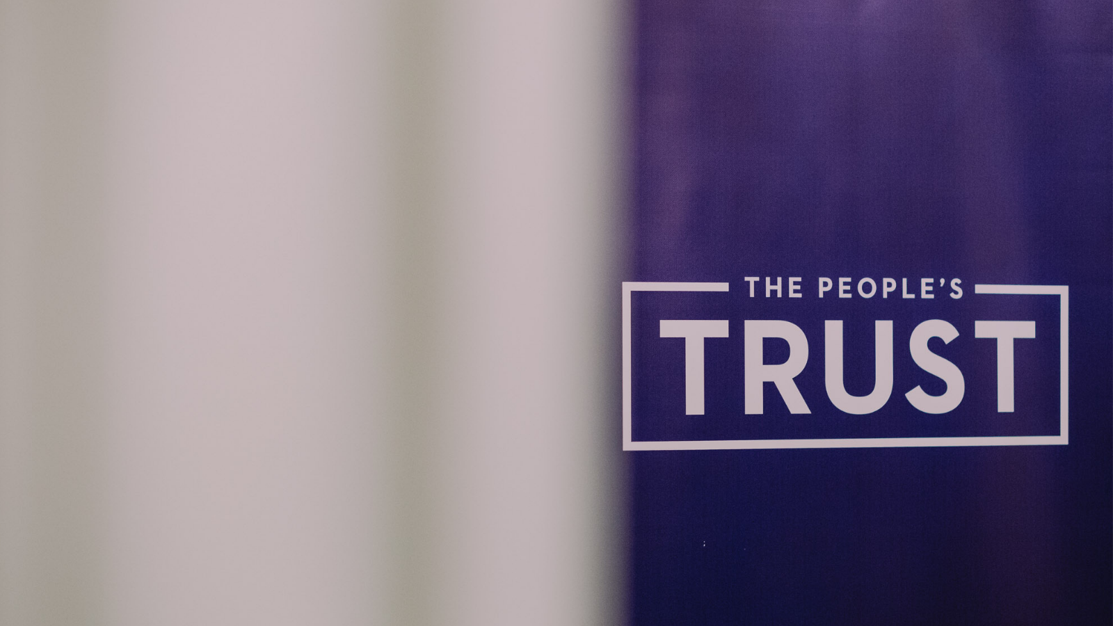 The People's Trust banner